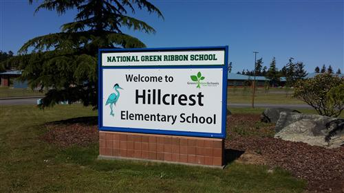 Hillcrest Lawn Sign