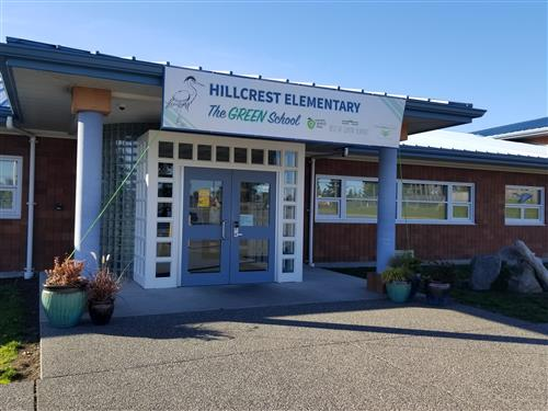 Hillcrest Entrance