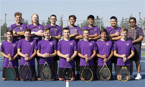 Boys Tennis team photo