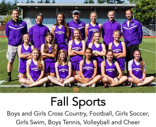 Cross Country athletes