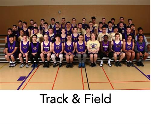 Boys track team photo