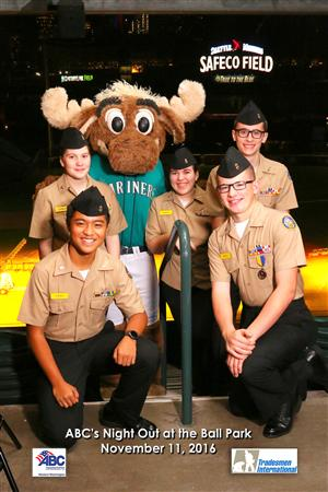 Cadets and Safeco moose