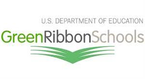 IMage of logo for U.S. Department of Education Nation Green Ribbon School